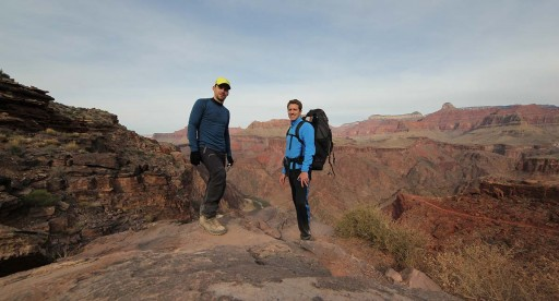 Vandring i södra Grand Canyon