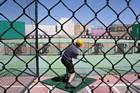 Bating cage i Las Vegas