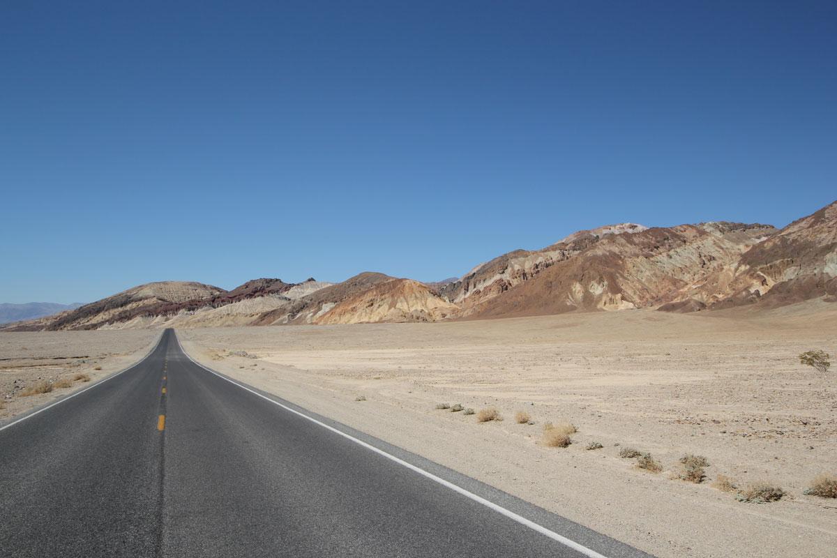 Pahrump To Las Vegas >> Death Valley från Las Vegas