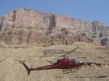 Utflykt Grand Canyon med en helikopterflygning i Arizona från Las Vegas