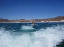 Wakeboard på Lake Mead i Las Vegas