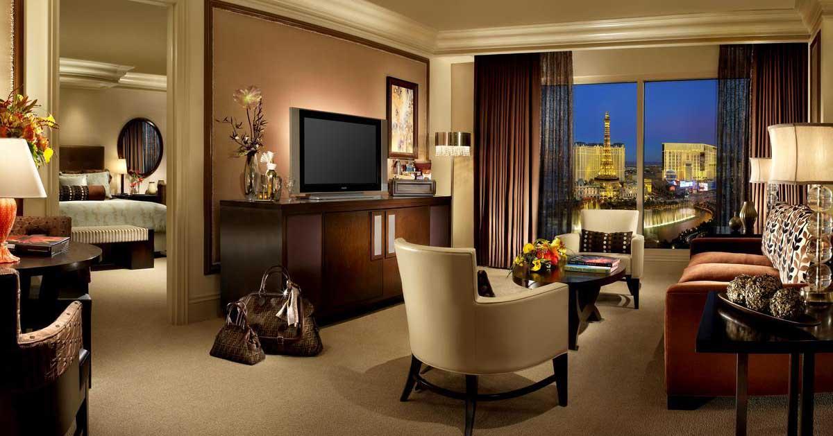 Bellagio Hotell I Las Vegas