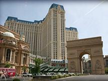 Paris Las Vegas med Triumfbågen