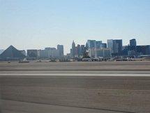 Flyg Mccarran Airport landat i Las Vegas