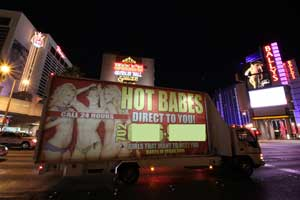 prostitution i Las Vegas