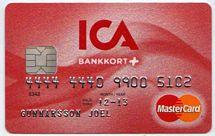 Kreditkortet Mastercard från Ica Banken